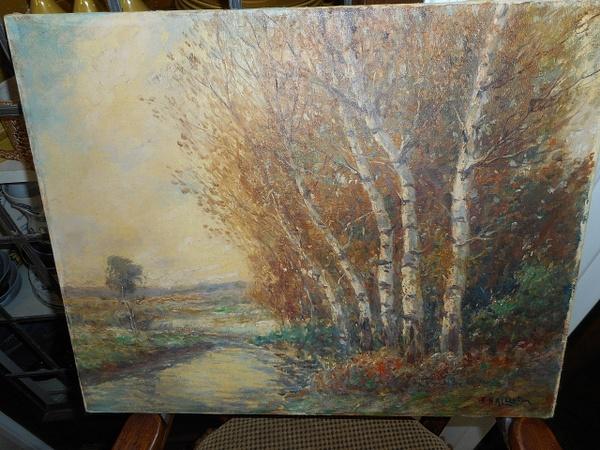 White Birch by CarolynAlvarado