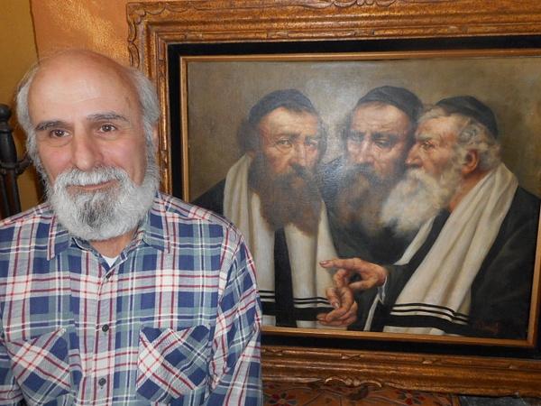 Rabbi Related Paintings by CarolynAlvarado