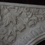 Marble Fireplace Front