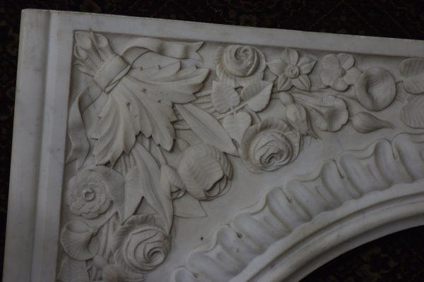 Marble Fireplace Front by CarolynAlvarado