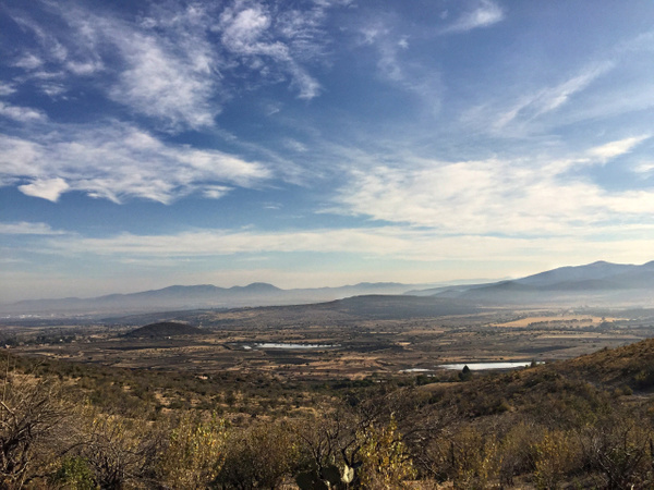 La Campana/ N ridge/ short-cut to Dromedaries/ Colorado...