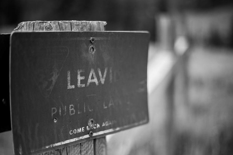 Leaving Public Lands