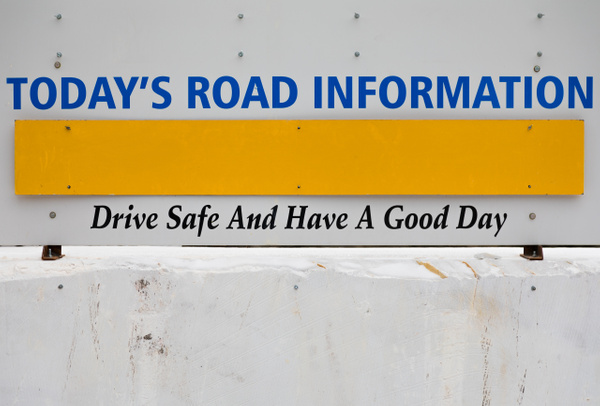 Today's Road Information by TheoWecker