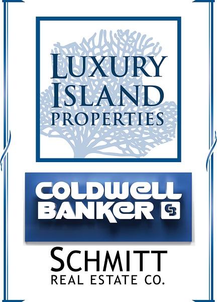 Luxury Island Properties logo 4C VERT by Coldwell Banker Schmitt