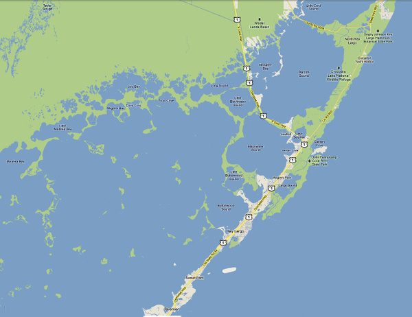Key Largo map by Coldwell Banker Schmitt