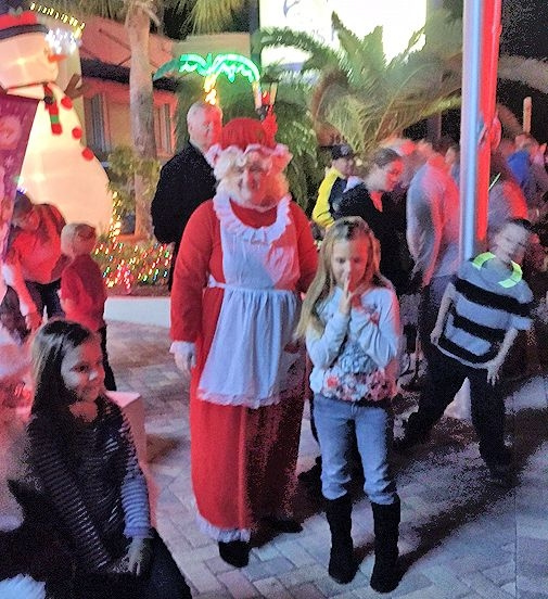 Lower Keys Santa Event 2014