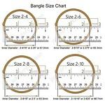 Bangle size chart 15 4 19