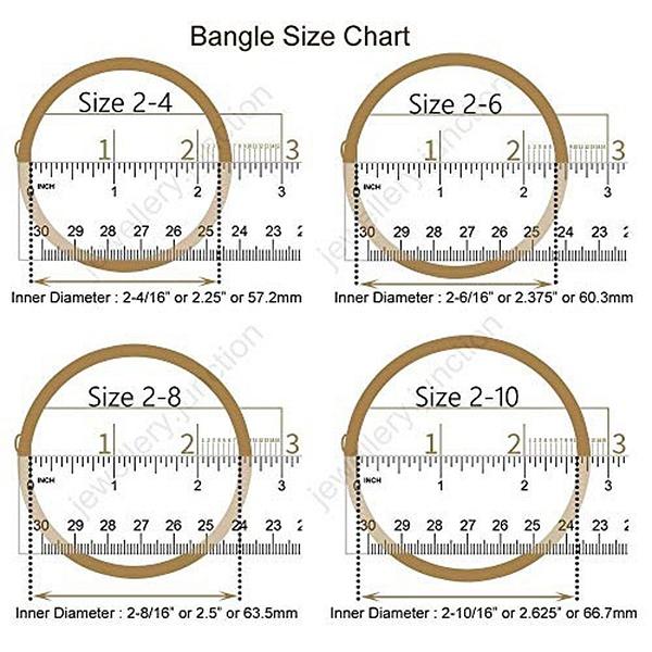NEW BANGLE SIZE CHART by Paresh1