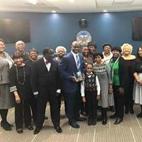 Pastor Carson Neighborhood Matters Award 2017 by SpringfieldMBC