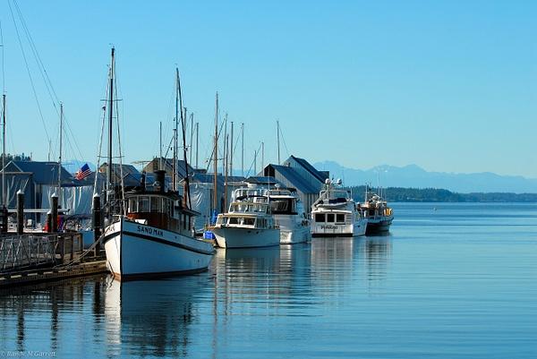 Puget Sound; Olympia by RandyMGarrett