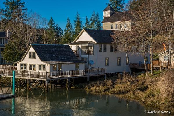 Skamokawa, WA on the Columbia River by RandyMGarrett