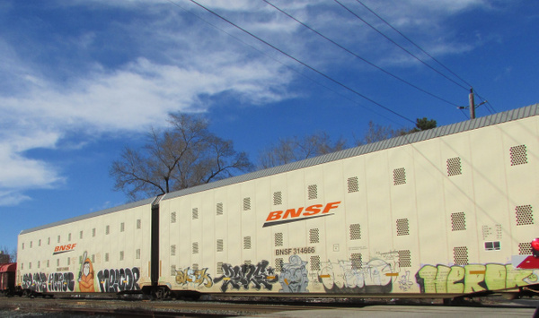 bnsf 314666 by RobertArcher
