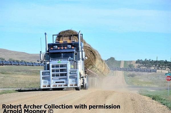 Mooney Hay hauler by RobertArcher