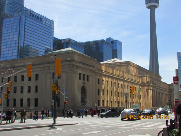 Toronto Union Station and Union Station Rail Corridor by...