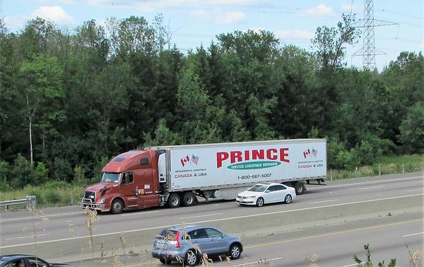 Truck Lines - P by RobertArcher