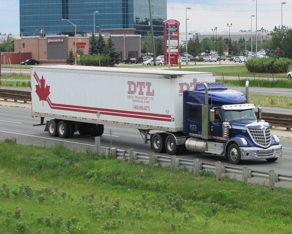Truck Lines - D by RobertArcher