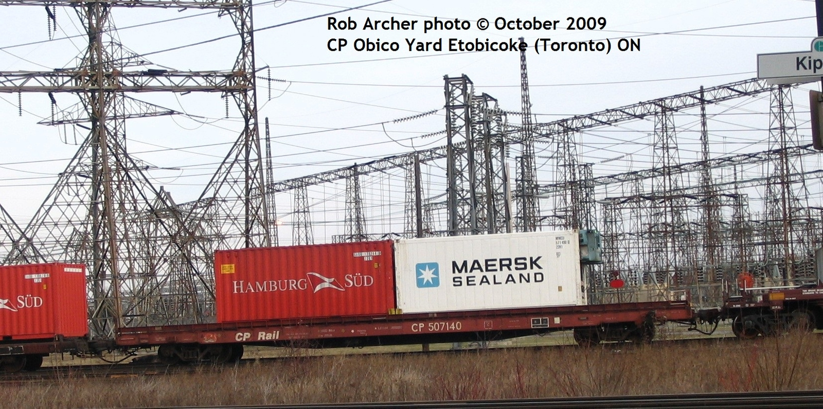 Container Car set out  by RobertArcher