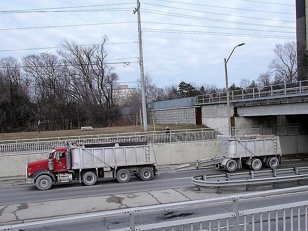Dump Trucks by RobertArcher