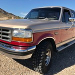 1993 Ford F250 Extended Cab Lifted 4x4 Original