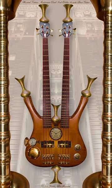 Warwick Fortress Masterman Dual Neck Bass