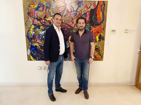Mohamed Dekkak and Naseer Shamma by Mohamed Dekkak