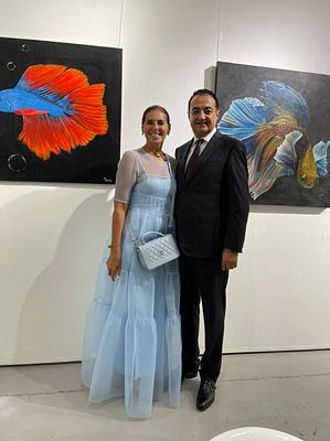 By the Sea Art Exhibition in Dubai