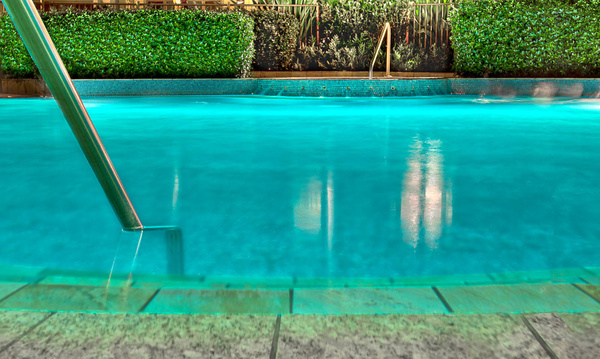 Hotel Swiming Pool by Brian Smith