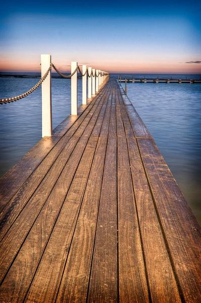 Narabeen Boardwalk by Brian Smith
