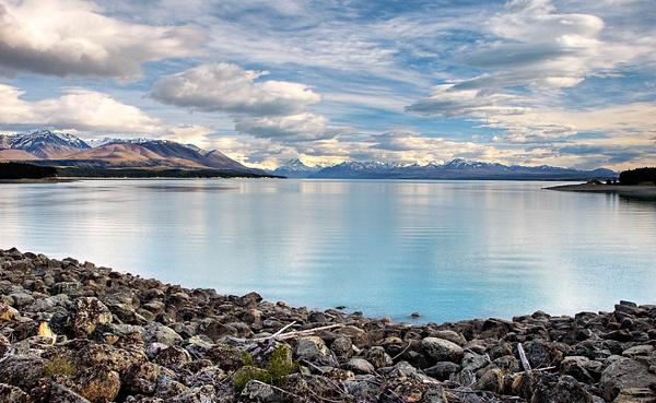 Lake Tekapo NZ by Brian Smith