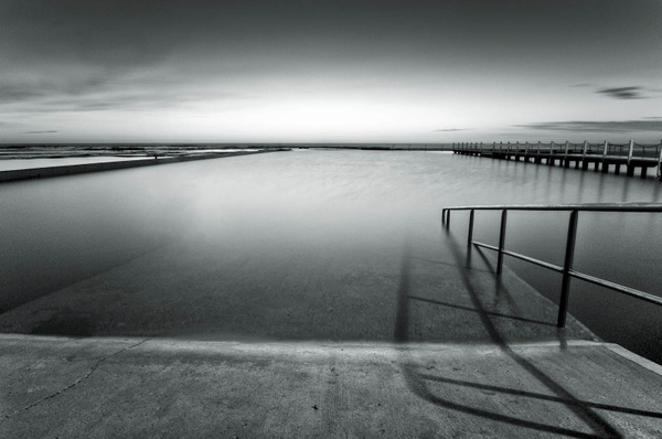 Landscape/Seascape Monochrome by Brian Smith
