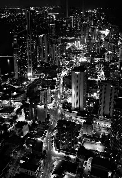 Gold Coast at Night by Brian Smith