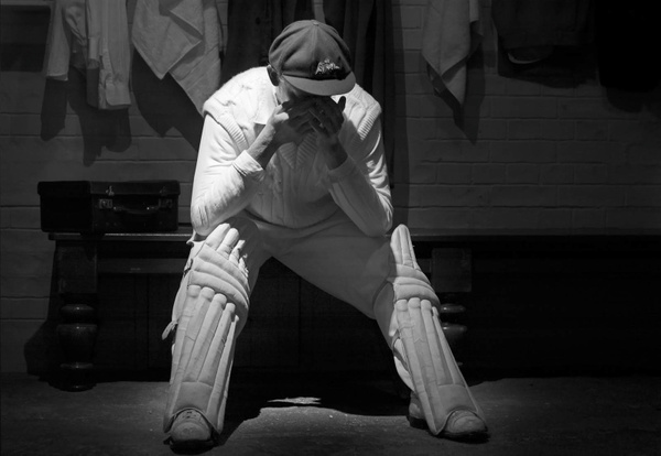 Cricketer by Brian Smith