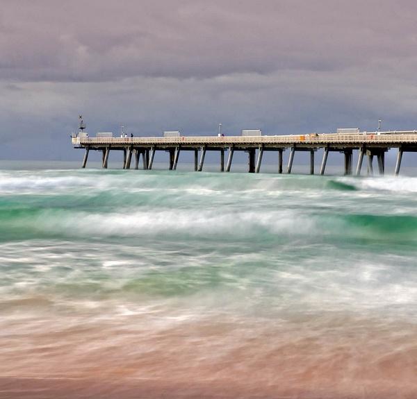 Stormy Sea by Brian Smith