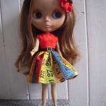 Vida, Stock cinnamon girl Blythe doll