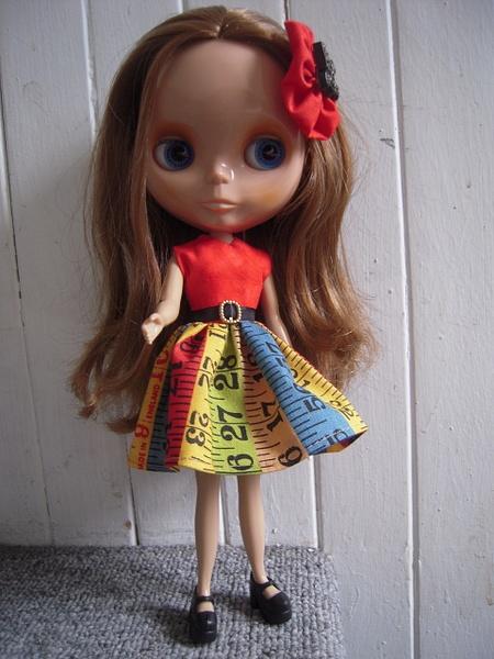 Vida, Stock cinnamon girl Blythe doll by JTABlythe