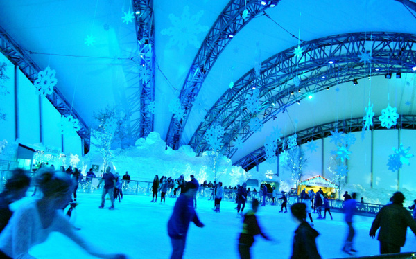the ice rink by Angelika