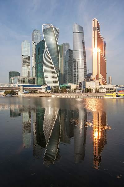 Москва. Деловой центр.