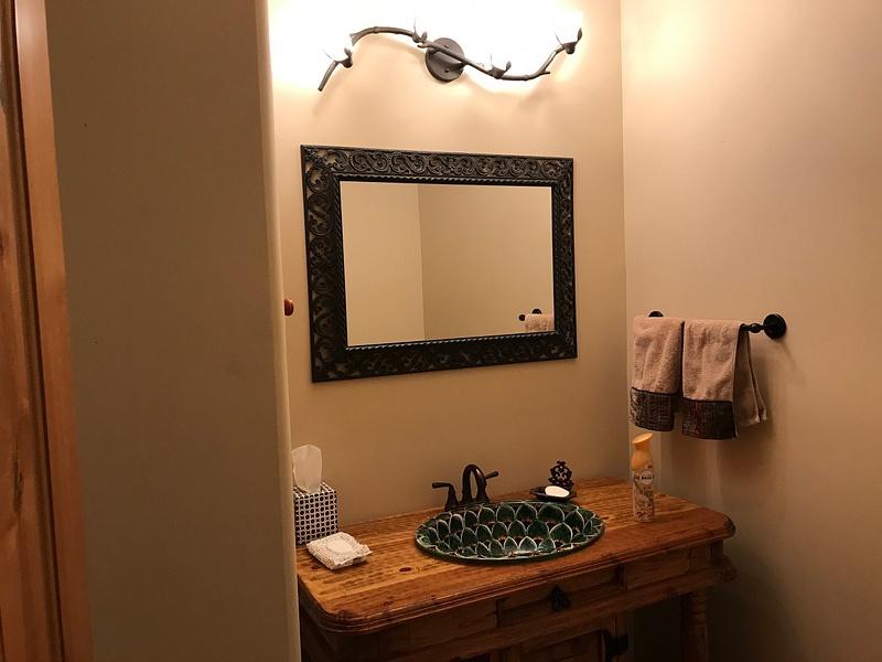 LITTLE BATHROOM OFF LAUNDRY ROOM