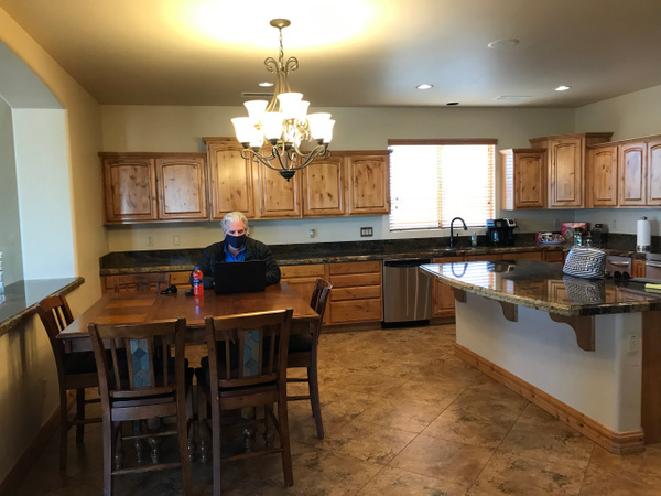 MAIN KITCHEN AREA - THEY WANT BACKSPLASH TILE by...
