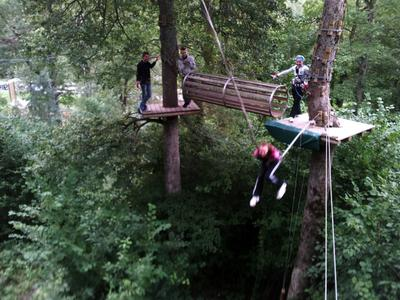 Latvia, Sigulda, Tarzan