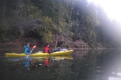 Cesis - Ligatne, Kayaking