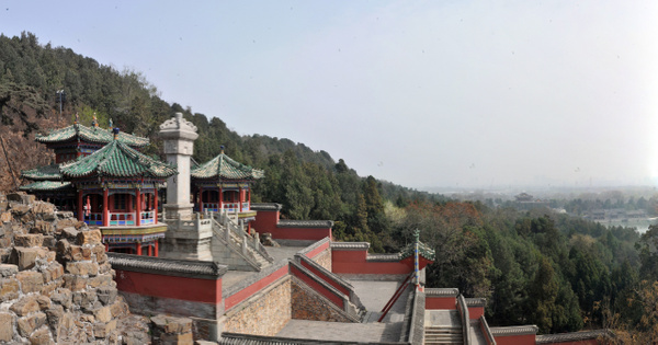 Top of the Summer Palace by Victor Francuzov