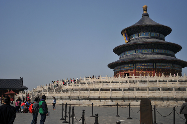 Beijing - Temple of Heaven by Victor Francuzov