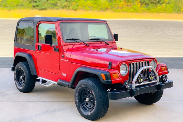 red wrangler by autosales by autosales