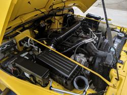 Yellow jeep wrangler