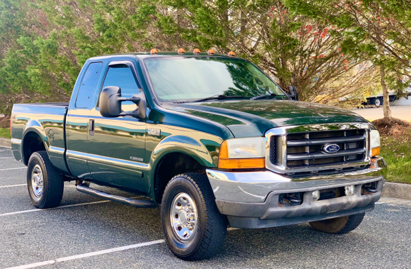 2001 ford f250 (green) by autosales by autosales