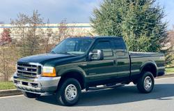 2001 ford f250 (green)