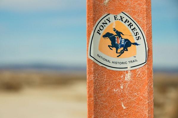 Pony Express Trail Nevada - January 2015 by Ski3pin