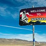 Nevada's Silver Peak Range - February 2015