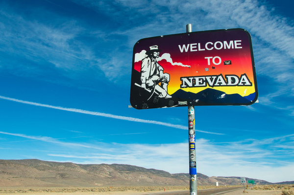 Nevada's Silver Peak Range - February 2015 by Ski3pin